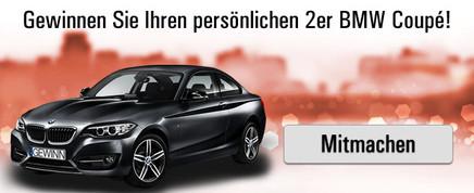 Gewinnen Sie Ihren 2er BMW!