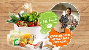 Gewinnen Sie Kochboxen von Hello Fresh!