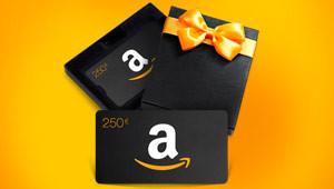 250 € Amazon-Gutschein