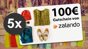 100 € Mode-Gutschein gewinnen