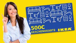 Ikea-Gutschein gewinnen!