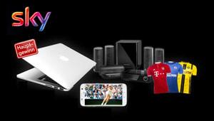 MacBook und mehr gewinnen.
