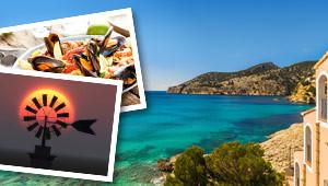 Fliegen Sie nach Mallorca!