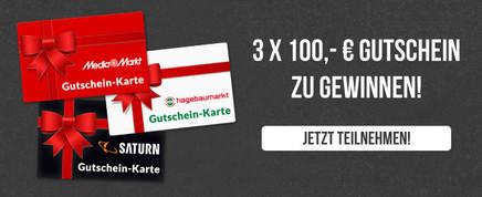 Gutscheine im Wert von 3.000€!