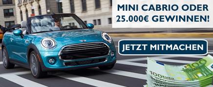 Mini oder 25.000 € gewinnen!