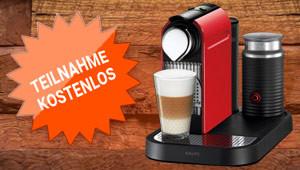 Nespresso-Maschine gewinnen!