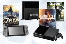 PS4, XBox oder Switch?