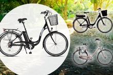 Drei E-Bikes zur Auswahl