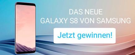 Gewinnen Sie ein Galaxy S8!