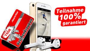 Gutschein & iPhone 7 gewinnen!
