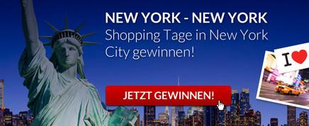 New York Reise gewinnen!