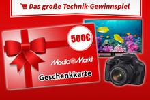 500 € Gutschein gewinnen!