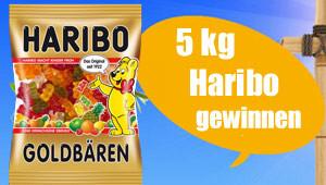 Gewinnen Sie 5kg Haribo Snacks