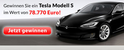 Jetzt Tesla Limousine gewinnen
