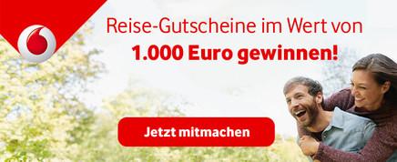 Reise-Gutscheine gewinnen!