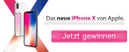 Gewinnen Sie ein iPhone X!