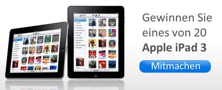 Gewinnen Sie ein iPad 3!