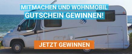 Wohnmobil-Gutschein gewinnen!
