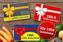 100 € Gutschein gewinnen.