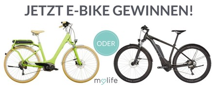 Cube E-Bike gewinnen!