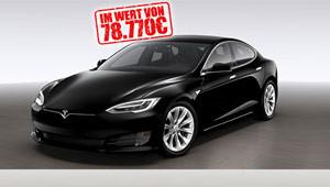 Tesla Elektro-Auto gewinnen.
