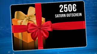 Saturn-Gutschein im Wert von 250 € zu gewinnen!
