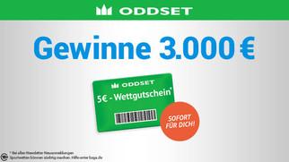 Gewinnen Sie bis zu 3.000 Euro!