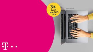 MacBook Pro im Wert von über 3.000 € zu gewinnen.